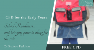 School Readiness... and bringing parents